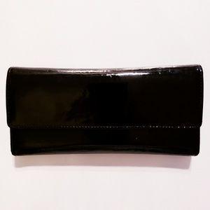 Vintage - Genuine Patten Leather Clutch Wallet